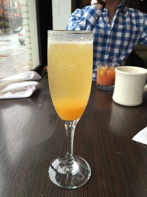 Peach Bellini at 10th & Piedmont
